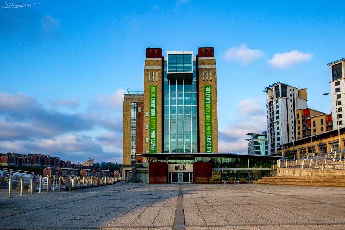 à Newcastle le « Baltic-centre d'art contemporain